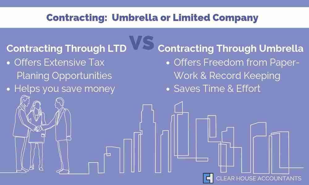 Contractors Options- Umbrella vs Limited Company