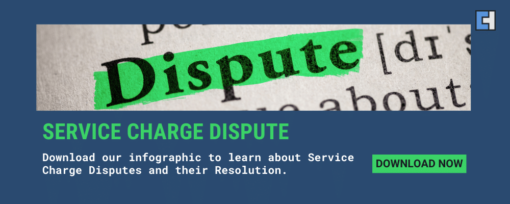 service charge dispute