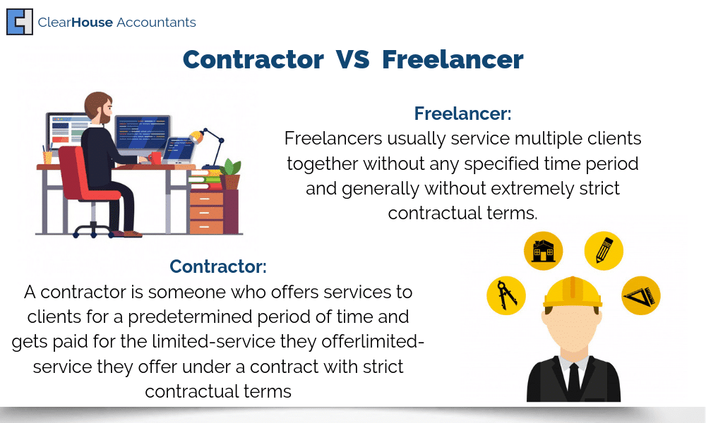 Difference between a Contractor and a Freelancer