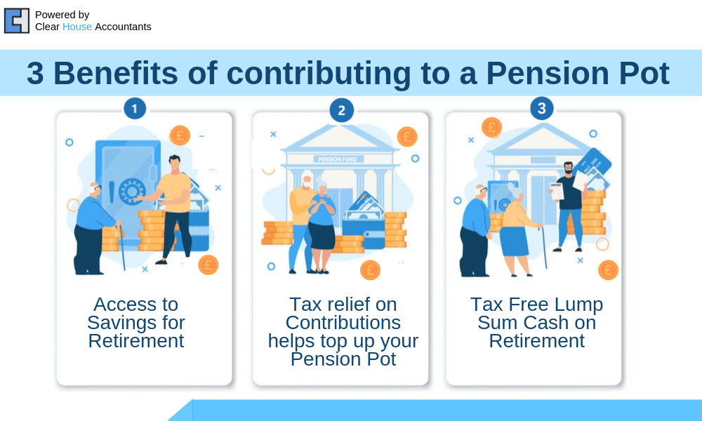 Benefits of contributing to a Pension Pot