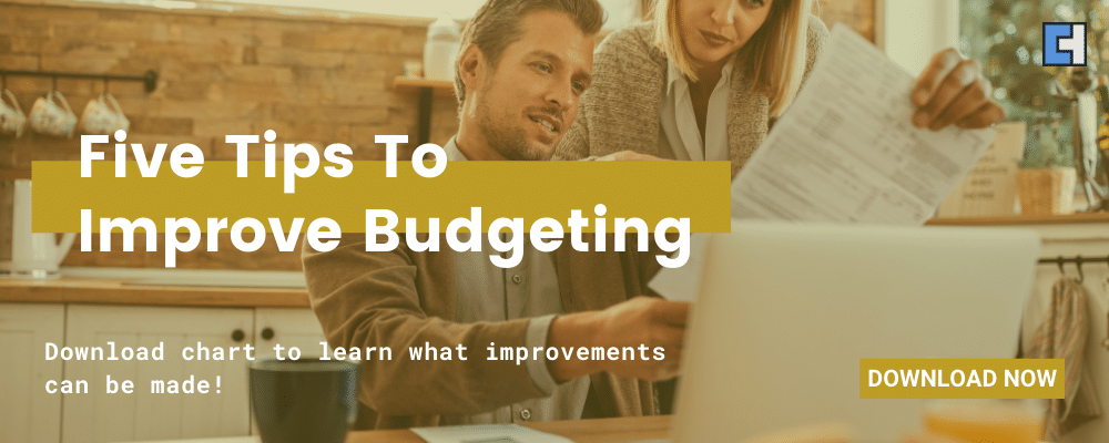 Five Tips To Improve Budgeting