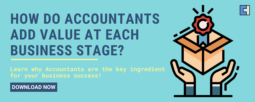 How do Accountants add value at each business stage_