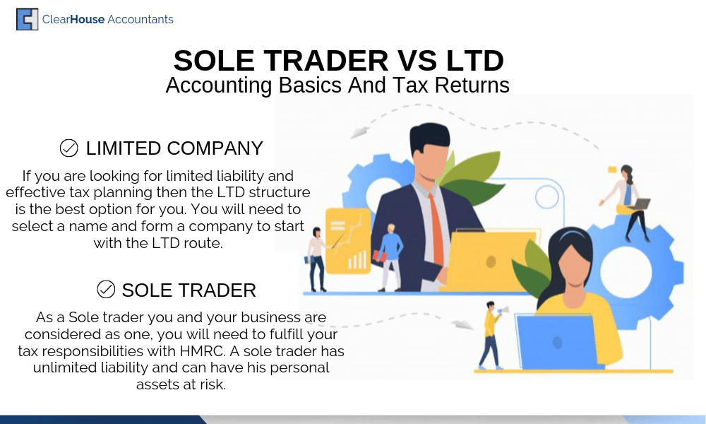 Sole Traders VS LTD