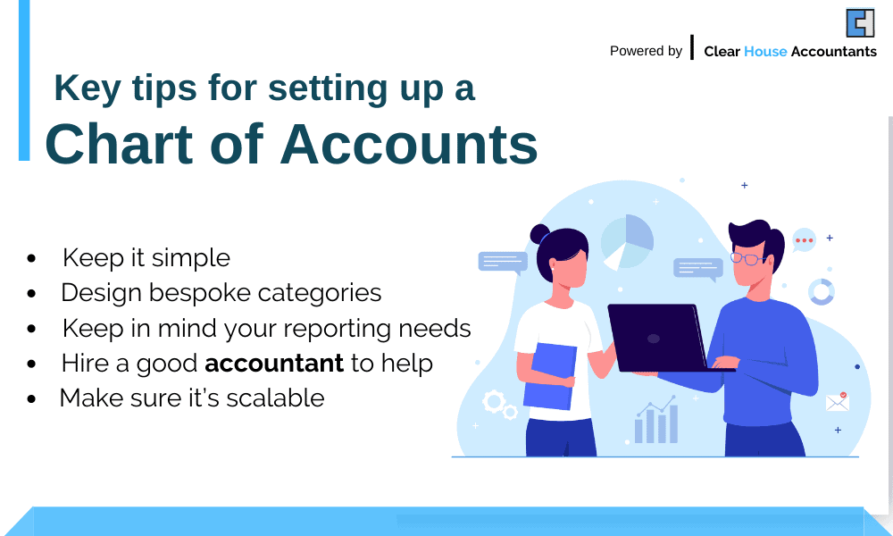 Tips for Setting Up Chart of Accounts
