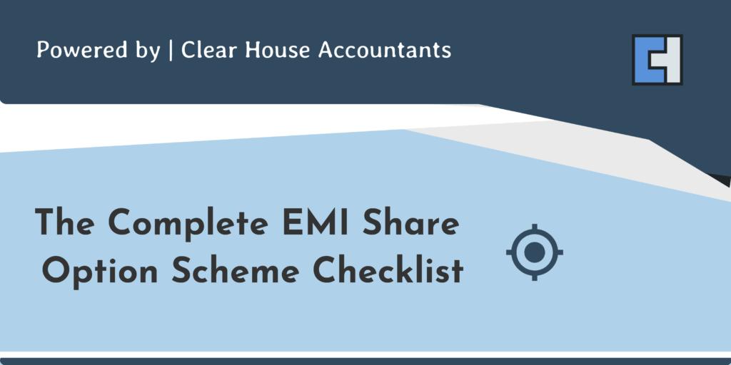 Checklist for EMI Share Option Scheme
