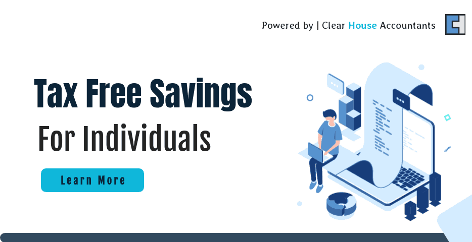 Tax free saving for Individuals