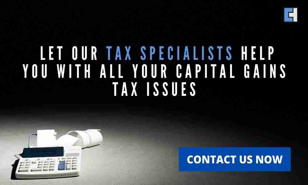 Capital Gains Tax on property sales
