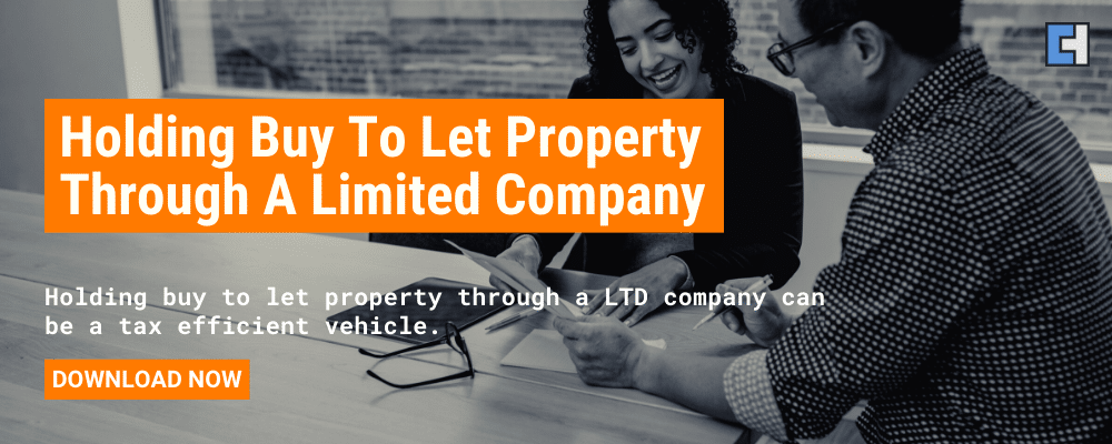 Holding Buy To Let Property Through A Limited Company