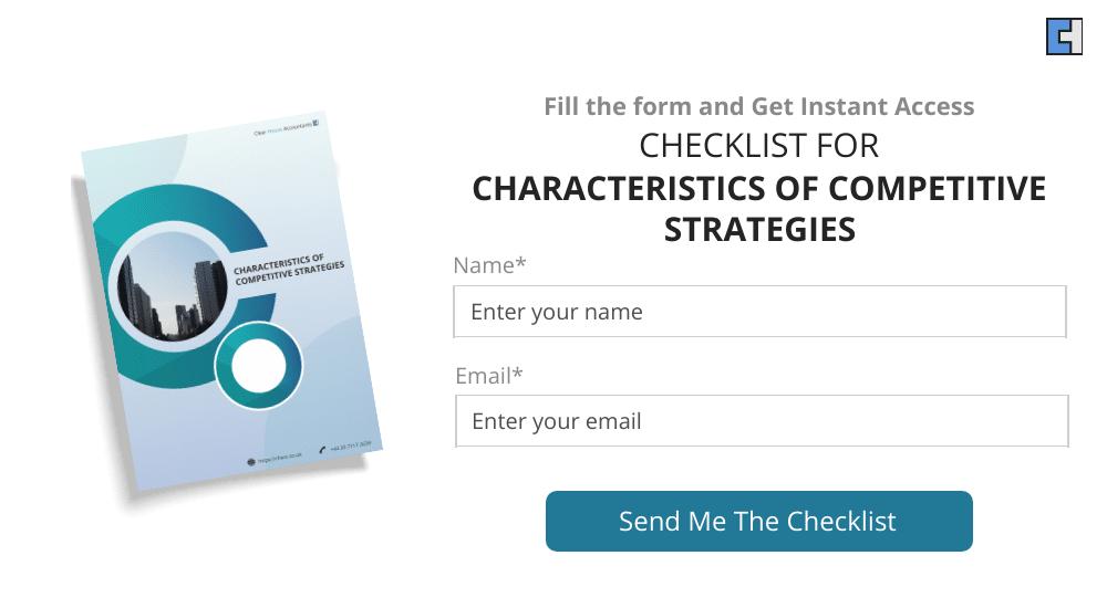 Characteristics of Competitive Strategies