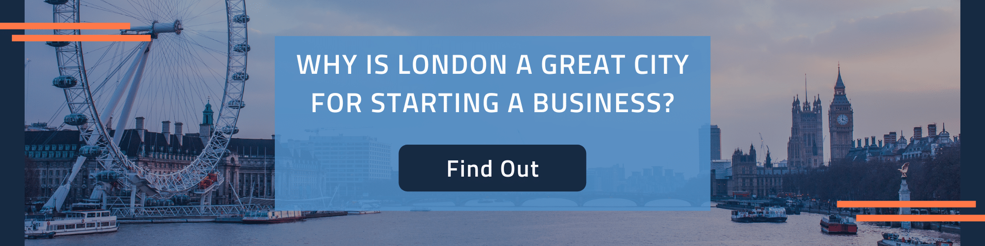 Why is London the best place to start a business