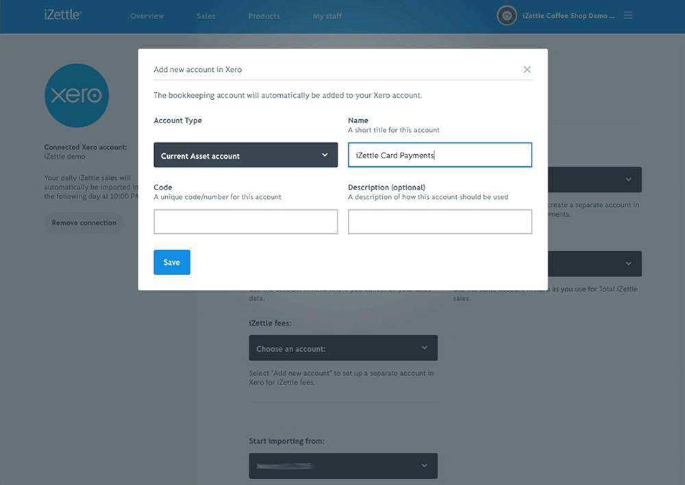 create Xero Account