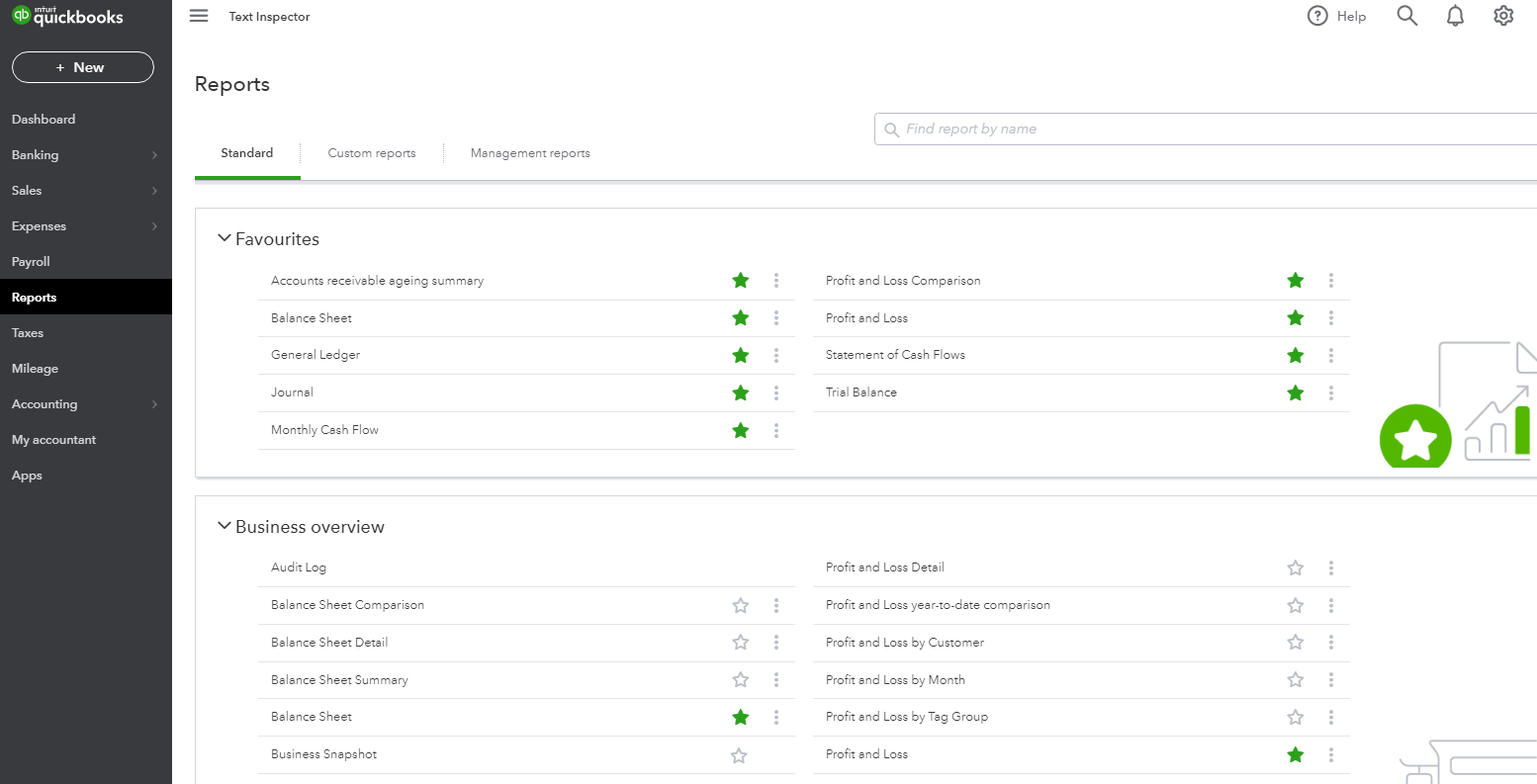 Manage Your Reports with QuickBooks