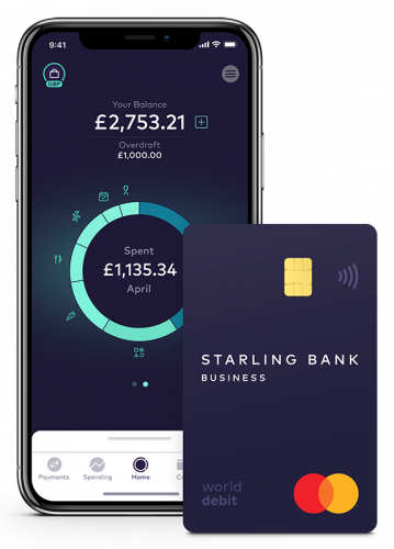 Apply for Starling Bank Account