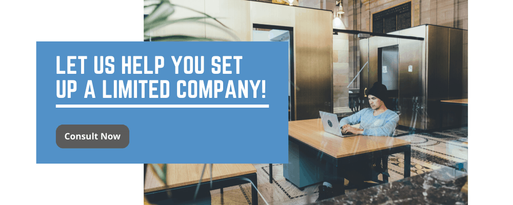 Setting up a limited company according to companies act