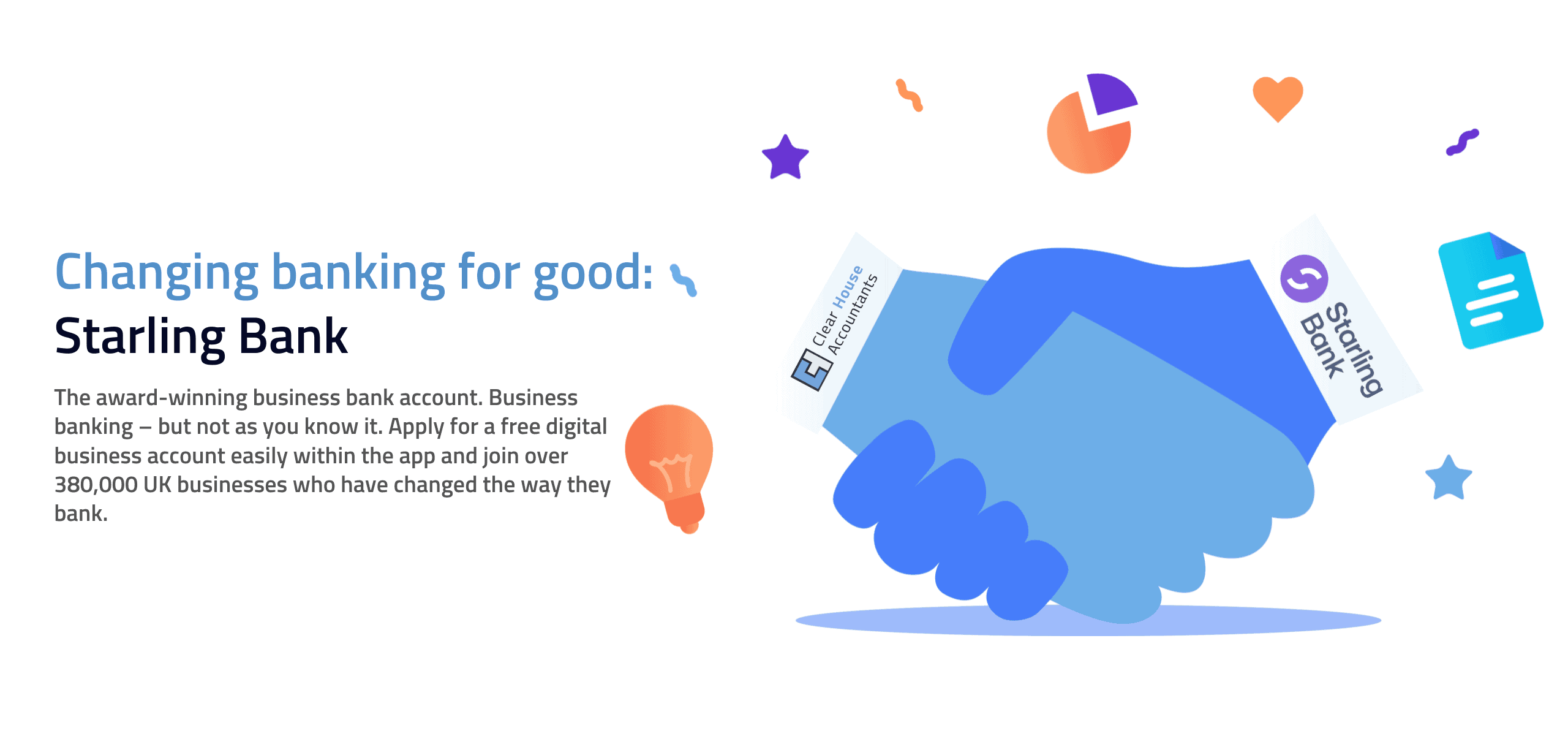 Starling Bank Partnership with Clear House