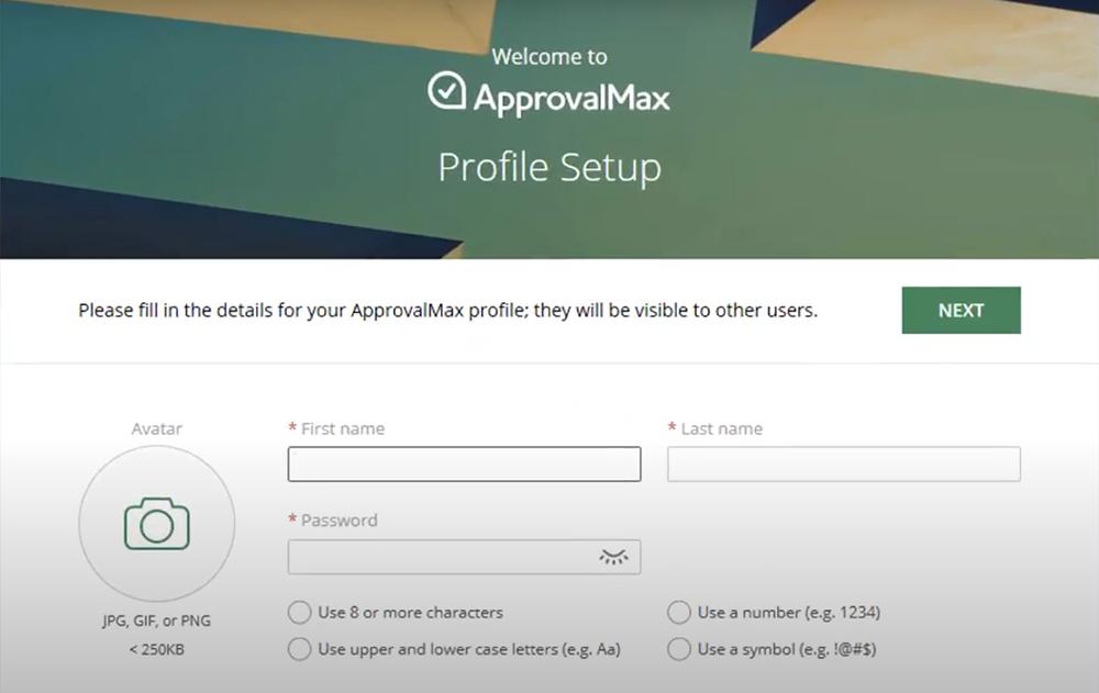 ApprovalMax Profile