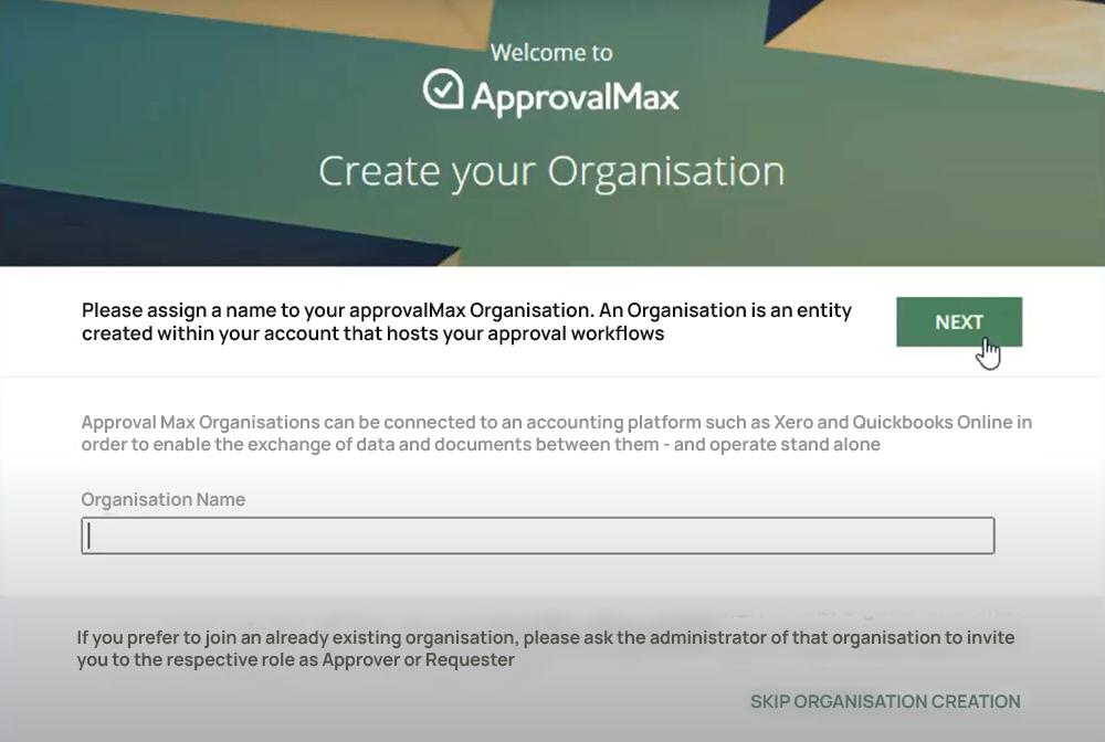 AprovalMax Client Profile Setup