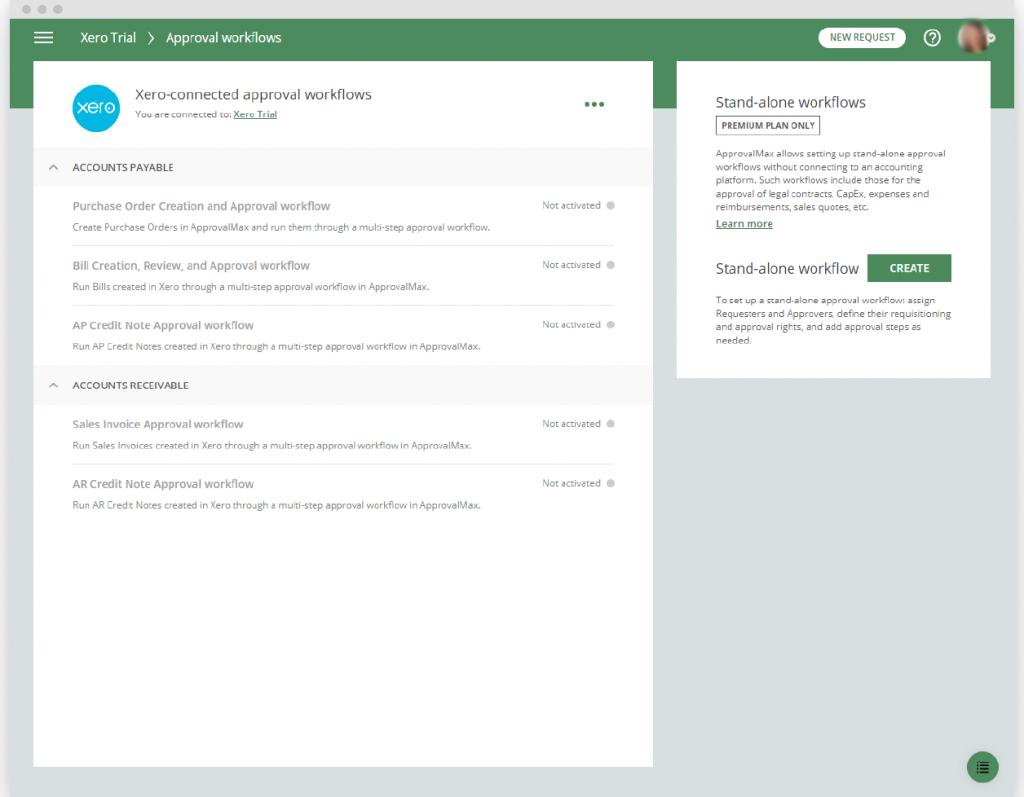 Create Bill Approval Workflow