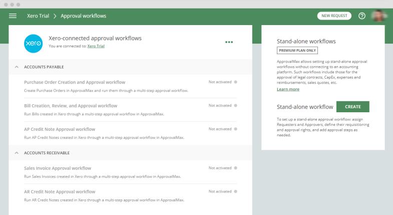 create custom approval workflows