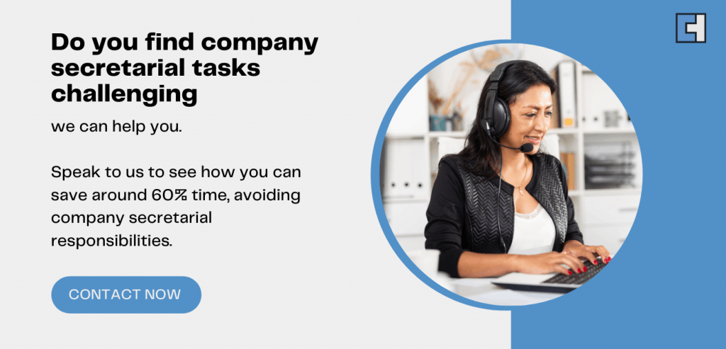 Avoid Company Secretarial Responsibilities